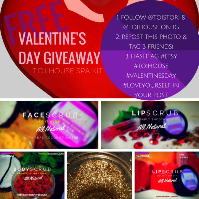 FREE VALENTINES DAY SPA SET GIVEAWAY
