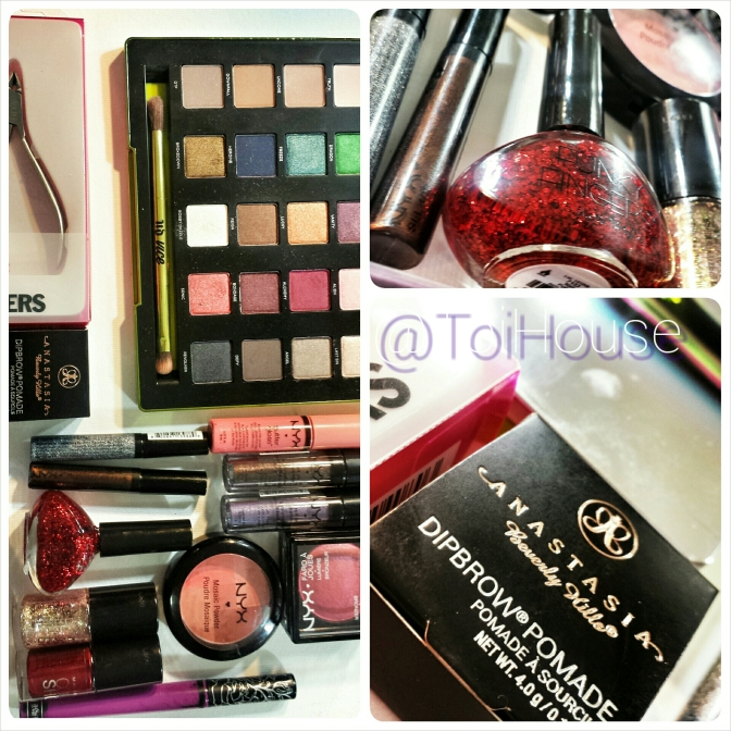 Xmas #BeautyHaul – Feat. Anastasia Beverly Hills Dip Brow Pomade- Beauty Box