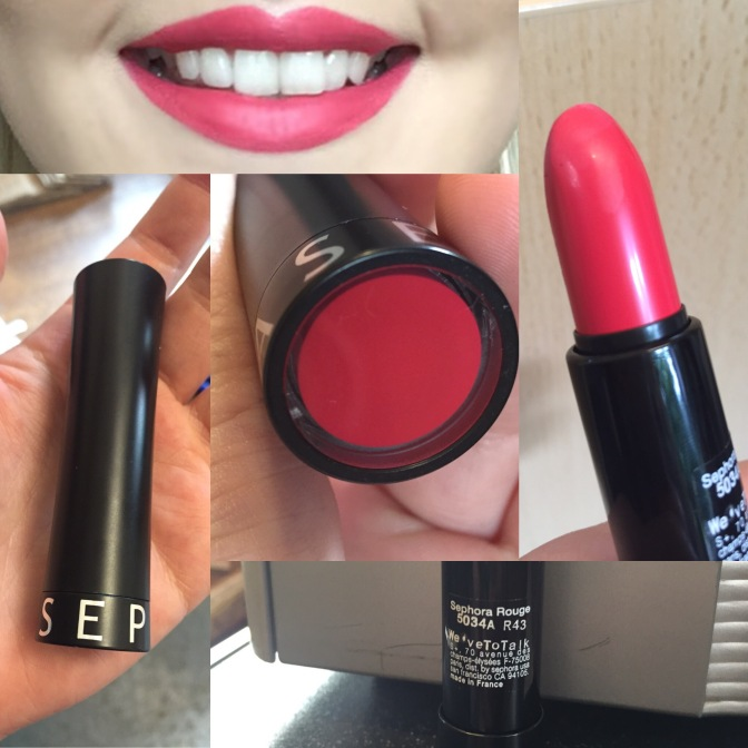 First Impressions: Sephora Rouge Lipstick