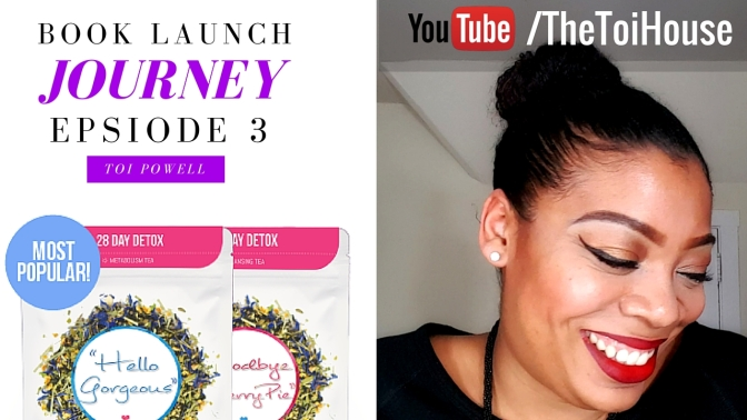 Skinny Fox Detox Review & Social Book Launch Journey: Ep 3, Toi